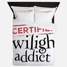 Certified Twilight Addict Queen Duvet