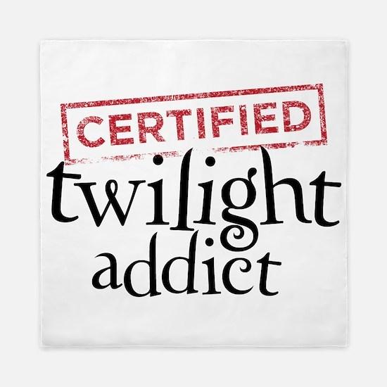 Certified Twilight Addict Queen Duvet