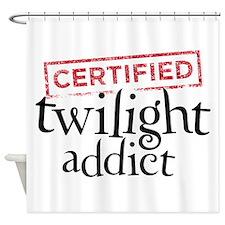 Certified Twilight Addict Shower Curtain