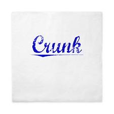 Crunk, Blue, Aged Queen Duvet
