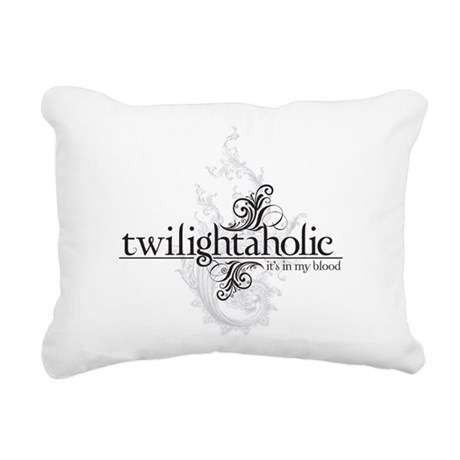 twilightaholic_1-01.png Rectangular Canvas Pillow
