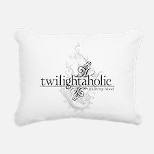 twilightaholic_1-01.png Rectangular Canvas Pillow