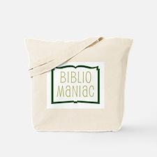 Bibliomaniac Tote Bag