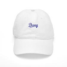 Dang, Blue, Aged Baseball Cap