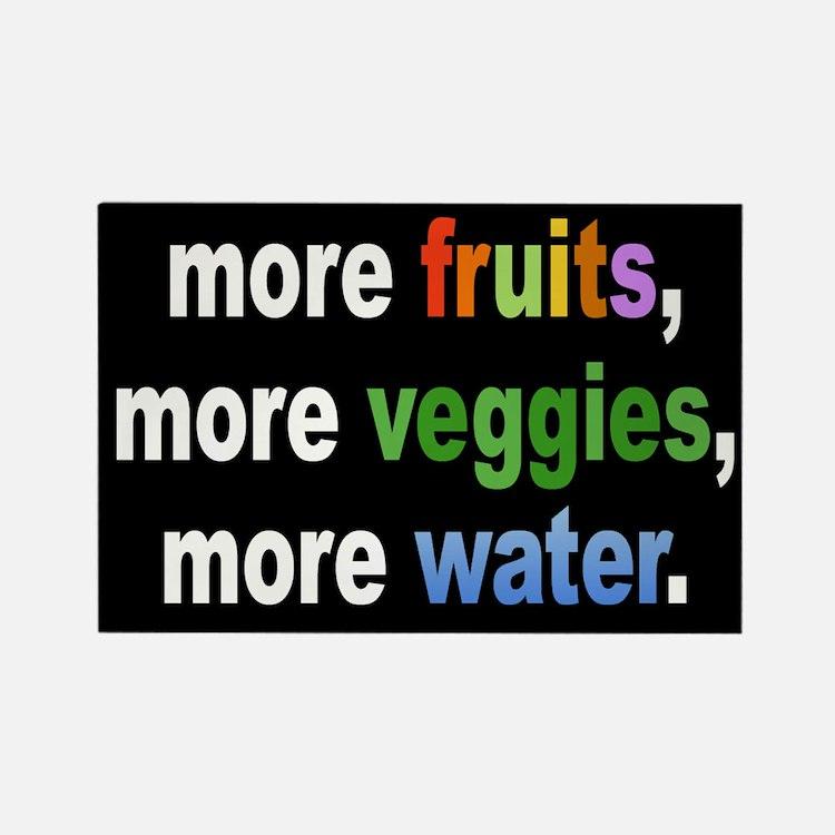 Healthy Diet Reminder Magnet