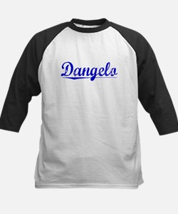 Dangelo, Blue, Aged Kids Baseball Jersey
