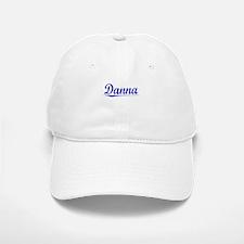Danna, Blue, Aged Baseball Baseball Cap