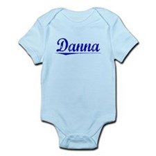 Danna, Blue, Aged Infant Bodysuit