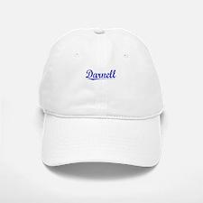 Darnell, Blue, Aged Baseball Baseball Cap