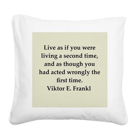 11.png Square Canvas Pillow