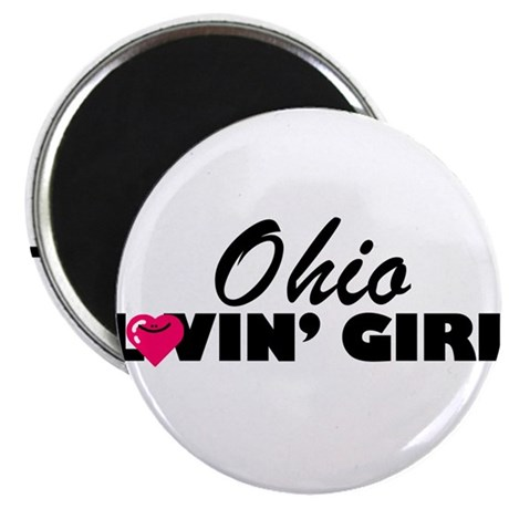 Ohio Loving girl Magnet