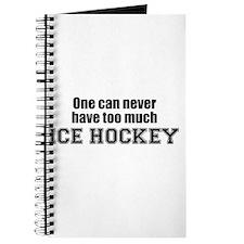 Never Too Much ICE HOCKEY Journal