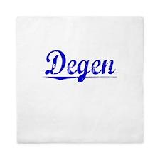 Degen, Blue, Aged Queen Duvet