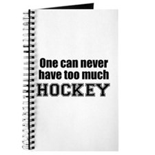 Never Too Much HOCKEY Journal
