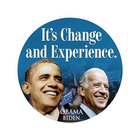 """Obama 2012 3.5"""" Button"""