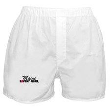 Maine Loving girl Boxer Shorts