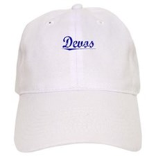 Devos, Blue, Aged Baseball Cap