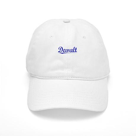 Dewalt, Blue, Aged Cap