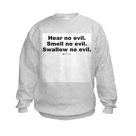 Ear, Nose and Throat Advice - Kids Sweatshirt