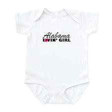 Alabama Loving girl Infant Creeper