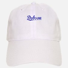 Dobson, Blue, Aged Baseball Baseball Cap