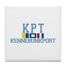 Kennebunkport ME - Varsity Design. Tile Coaster