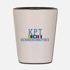 Kennebunkport ME - Varsity Design. Shot Glass