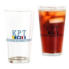 Kennebunkport ME - Varsity Design. Drinking Glass