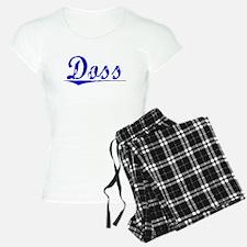 Doss, Blue, Aged Pajamas