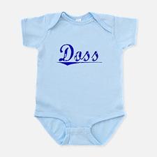 Doss, Blue, Aged Infant Bodysuit