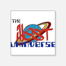 """illest UNiverse Square Sticker 3"""" x 3"""""""