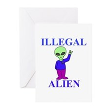 Illegal Alien Greeting Cards (Pk of 10)