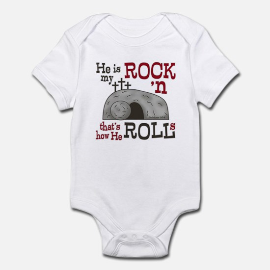 1 Cor 15:3-4 Infant Bodysuit