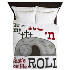 1 Cor 15:3-4 Queen Duvet