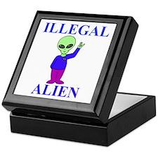 Illegal Alien Keepsake Box