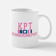 Kennebunkport ME - Varsity Design. Mug