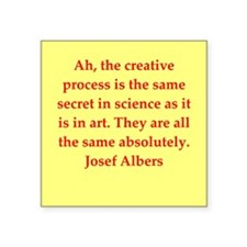"""albers2.png Square Sticker 3"""" x 3"""""""