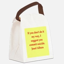 albers7.png Canvas Lunch Bag