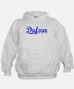 Dufour, Blue, Aged Hoodie
