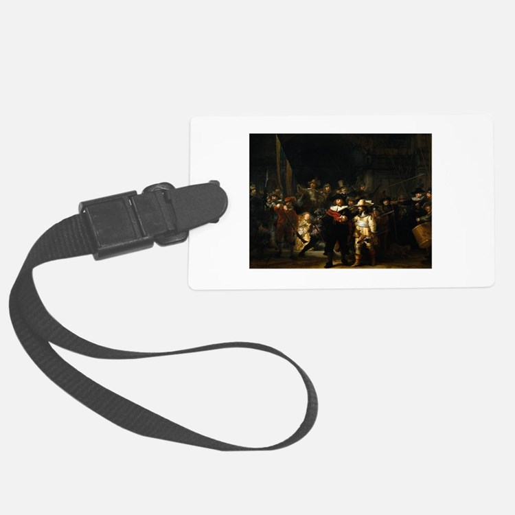 rembrandt12.png Luggage Tag