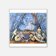 "paul cezanne Square Sticker 3"" x 3"""