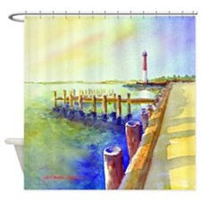 Path To Barnegat Light Shower Curtain