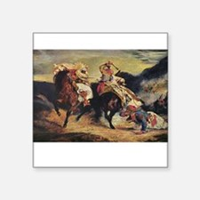 "delacroix Square Sticker 3"" x 3"""