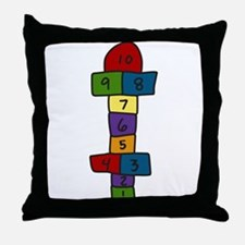 Hopscotch Throw Pillow