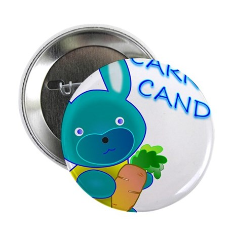 "Carrot Candy 2.25"" Button"