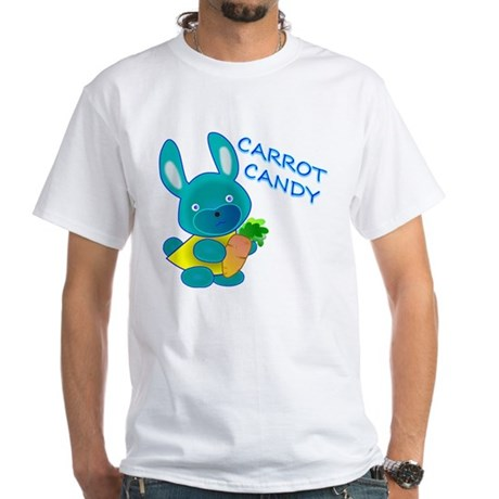 Carrot Candy White T-Shirt
