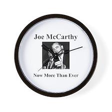 Joe McCarthy Now More Than Ever Wall Clock