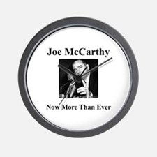 Joe McCarthy Now More Than Ever Wall Clock
