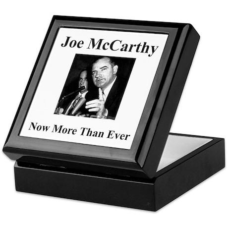 Joe McCarthy Now More Than Ever Keepsake Box