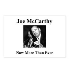 Joe McCarthy Now More Than Ever Postcards (Package